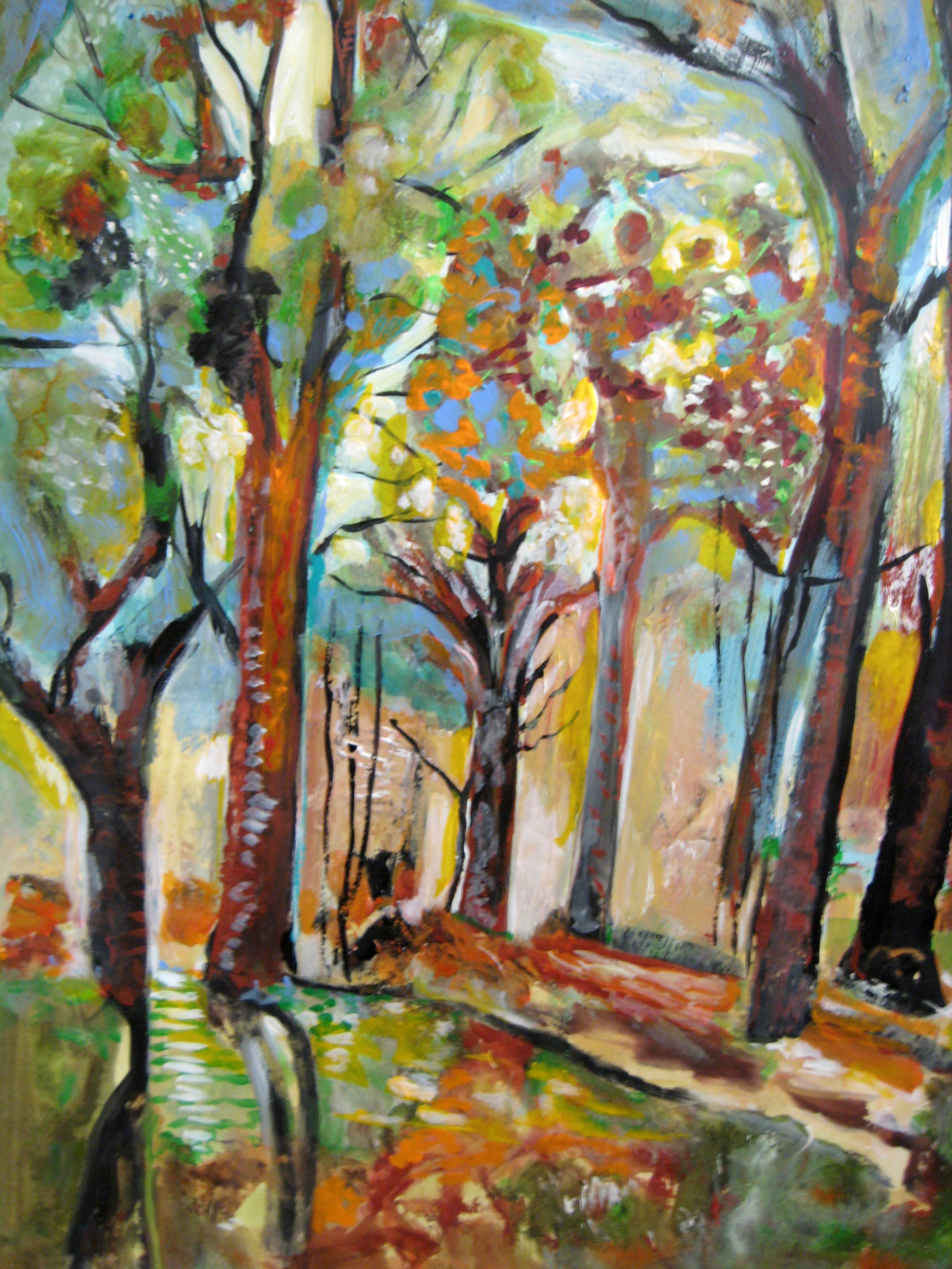 Excellent-Forest-painting-by-Joyce-Lieberman