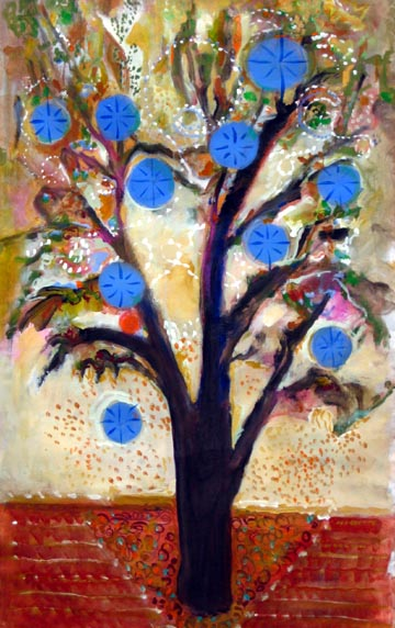 Trees-paintings-by-Joyce-Lieberman