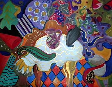 Sangria_UNStill_Life-painting-by-Joyce-Lieberman